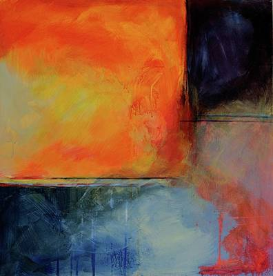 Painting - Fire And Rain by Jillian Goldberg