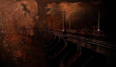 Fire At Diablo Original by Jeff Burgess