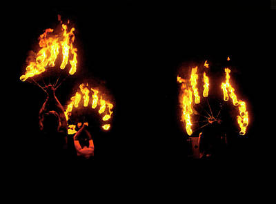 Photograph - Fire Dance by Barbara  White