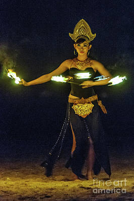 Photograph - Fire Dance by Werner Padarin