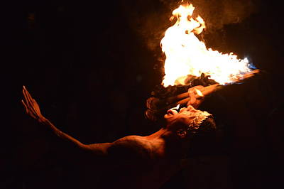 Photograph - Fire Dancer by Jewels Blake Hamrick