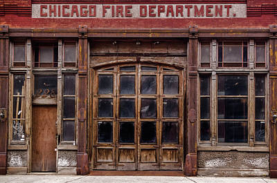 Photograph - Fire Department by Stewart Helberg