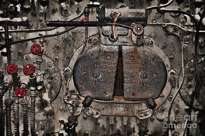 Photograph - Fire Door by David Arment