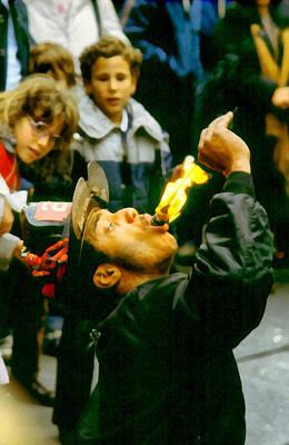 Photograph - Fire Eater by Joseph Frank Baraba