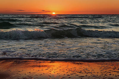 Photograph - Cape San Blas Sunset by Eilish Palmer