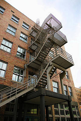 Photograph - Fire Escape 2 by Ely Arsha