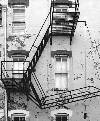Fire Escape Print by Steven Ainsworth