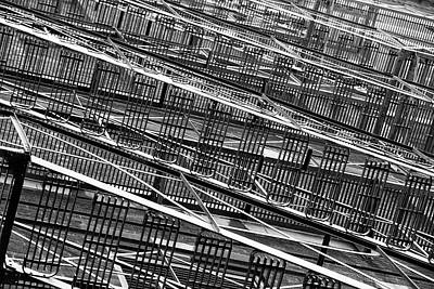 Photograph - Fire Escapes by Eunice Gibb