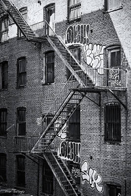 Photograph - Fire Escapes by Fran Gallogly