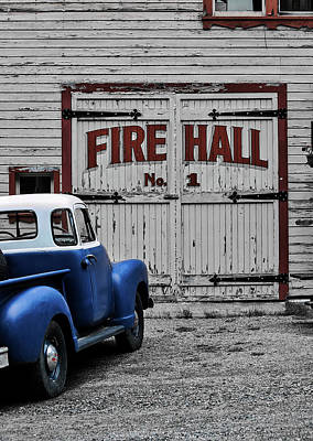 Photograph - Fire Hall Number One by Mountain Dreams