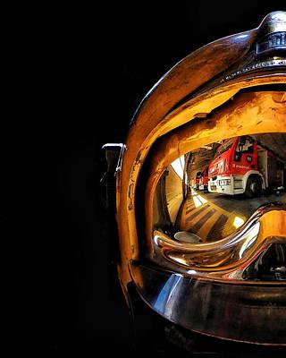 Photograph - Fire Helmet by Ferran Serra