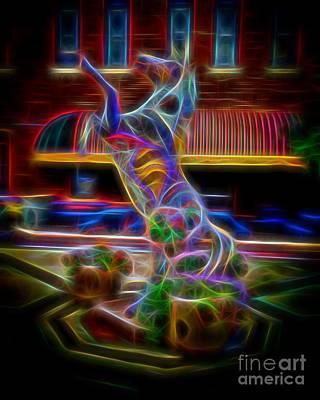 Fire Horse Art Print by Jon Burch Photography