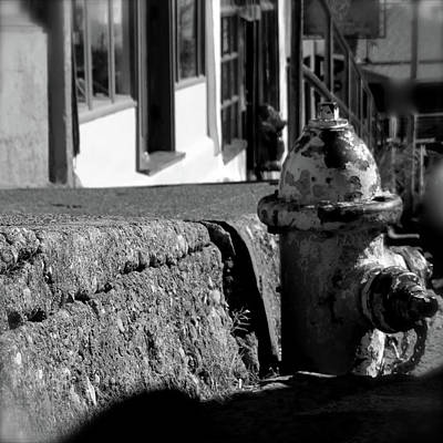 Photograph - The Town Hydrant In Jerome by Jenny Regan