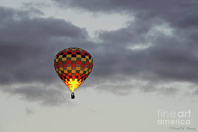 Photograph - Fire In The Balloon by David Arment