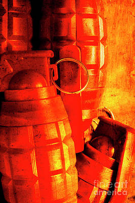 Iron Photograph - Fire In The Hole by Jorgo Photography - Wall Art Gallery
