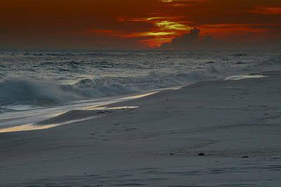 Photograph - Fire In The Horizon by Renee Hardison