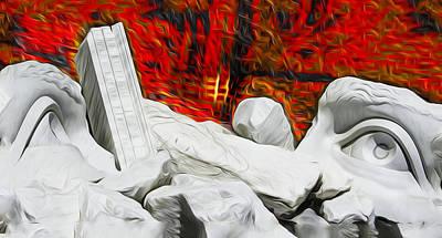 Digital Art - Fire In The Mind by Joe Paradis