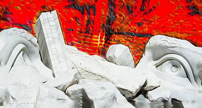 Digital Art - Fire In The Minds Of Men by Joe Paradis