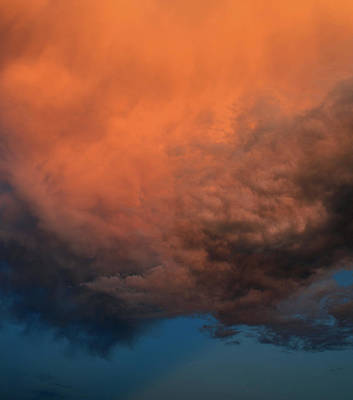 Photograph - Fire In The Sky by Ally White