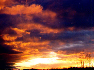 Belinda Landtroop Royalty-Free and Rights-Managed Images - Fire in the Sky by Belinda Landtroop