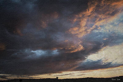 Photograph - Fire In The Sky, Benson Vt by Yuri Lev