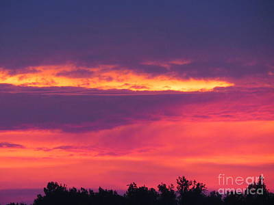 Bama Photograph - Fire In The Sky by Charles Green