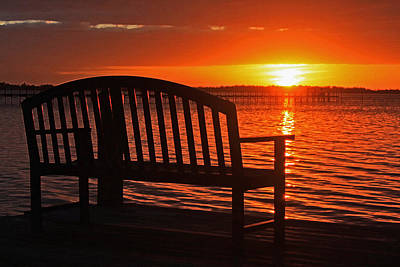 Photograph - Fire In The Sky - Florida Sunset By H H Photography Of Florida  by HH Photography of Florida