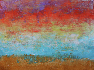 Painting - Fire In The Sky by Jacklyn Duryea Fraizer