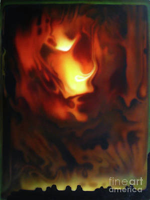 Fire In The Sky Art Print by Jurek Zamoyski