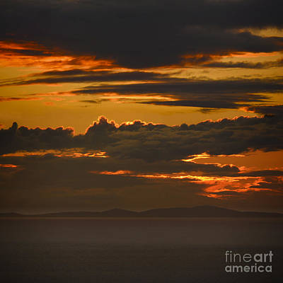Photograph - Fire In The Sky by Paul Davenport