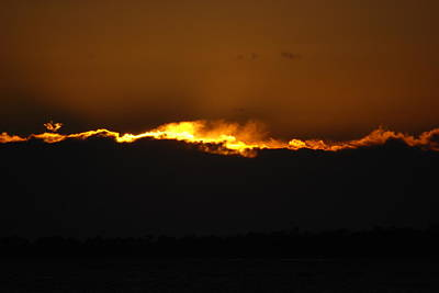 Photograph - Fire In The Sky by Renee Holder
