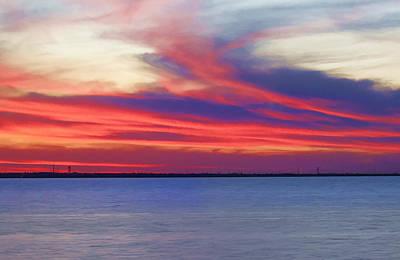 Photograph - Fire In The Sky by Ricky Barnard