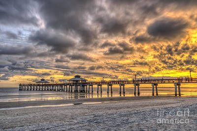 Photograph - Fire In The Sky by Scott Wood