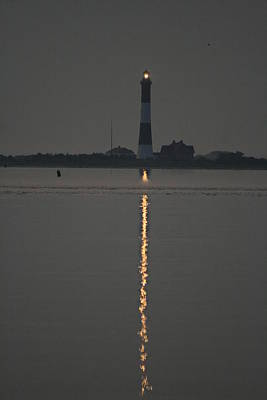 Photograph - Fire Island Inlet And Light by Christopher Kirby