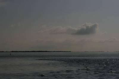 Photograph - Fire Island Inlet Current by Christopher Kirby