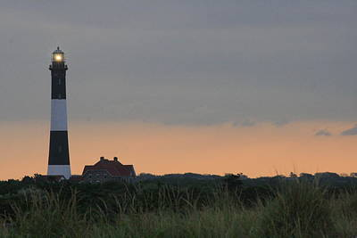 Fire Island Light Art Print