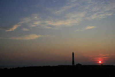 Photograph - Fire Island Lighthouse Dawn by Christopher Kirby