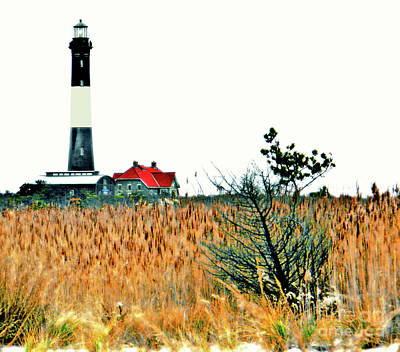 Photograph - Fire Island Lighthouse Hdr by Raymond Earley