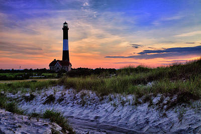 Fire Island Lighthouse Art Print by Rick Berk