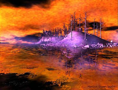 Fire Island Art Print by Monroe Snook