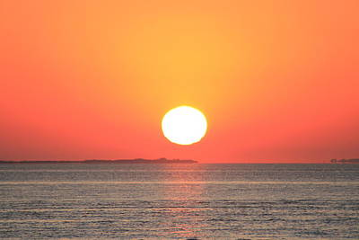 Photograph - Fire Island Sunrise In August by Christopher Kirby