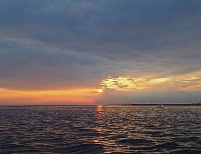 Lovely Lavender - Fire Island Sunset I I I by Newwwman