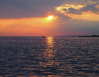 Photograph - Fire Island Sunset I I by Newwwman