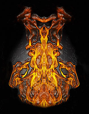 Photograph - Fire Leather by Peter Piatt