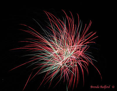 Photograph - Fire Lines by Brenda Redford
