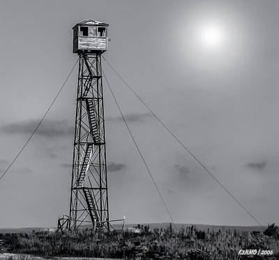 Photograph - Fire Lookout Tower In Northern Maine  by Ken Morris