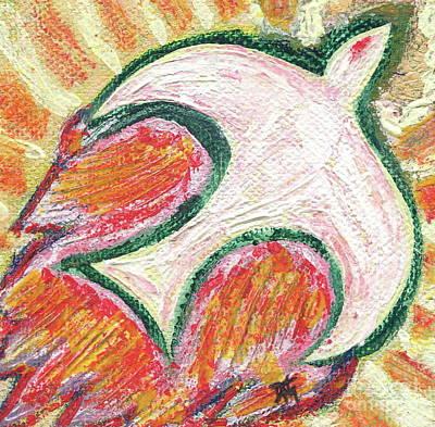 Fire Of The Holy Spirit Original by Danielle Tayabas