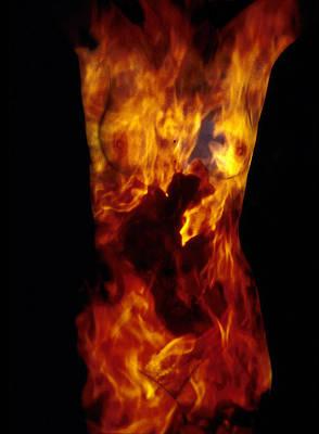 Fire One  Art Print by Arla Patch