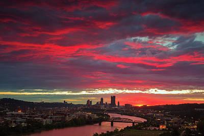 Photograph - Fire Pitt by Emmanuel Panagiotakis
