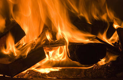 Fire Place Background Original by Michalakis Ppalis